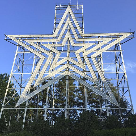 I-Phone photo Mill Mountain, VA