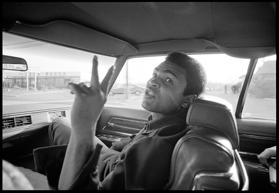 """Ali Road Rant"" Philadelphia, PA 1973 F27"