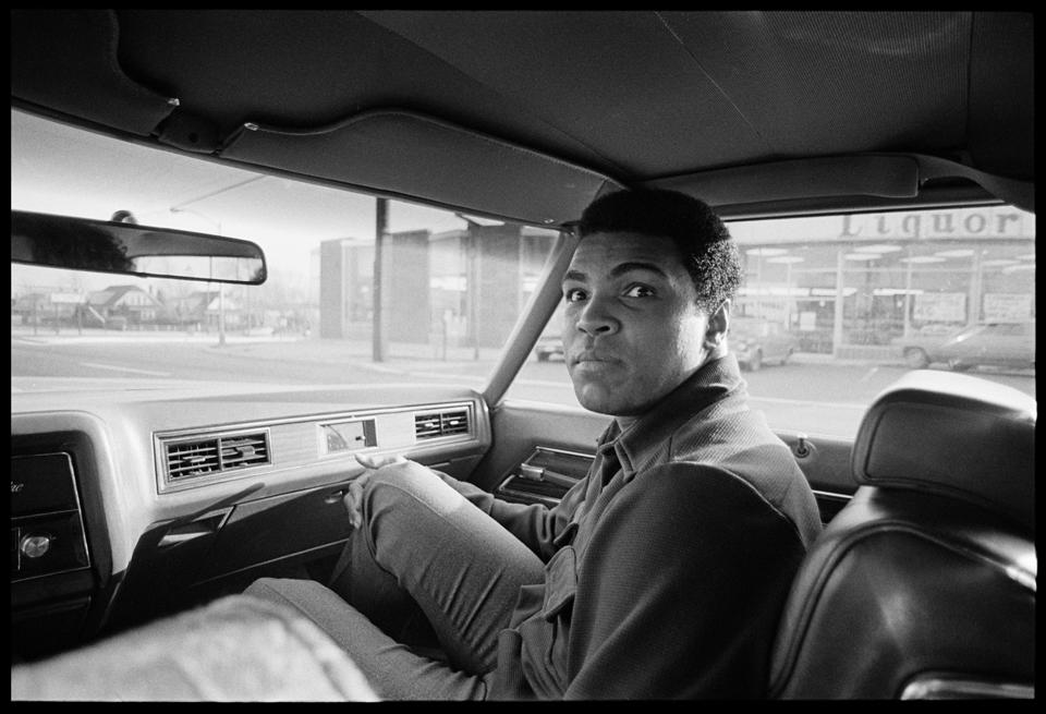 """Ali Road Rant"" Philadelphia, PA 1973 F25"