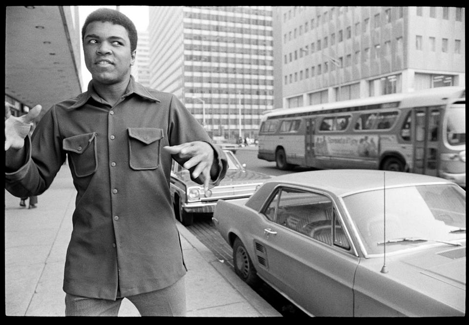 """Ali Road Rant"" Philadelphia, PA 1973 F16"