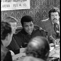 """Ali vs Bugner Press Conference"" Philadelphia, PA 1973 F14"