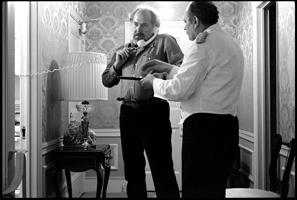 """Robert Altman"" Sherry Netherland Hotel NYC 1976 F2"