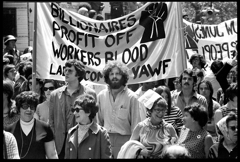 Vietnam Moratorium March To Wall Street October 15 1969