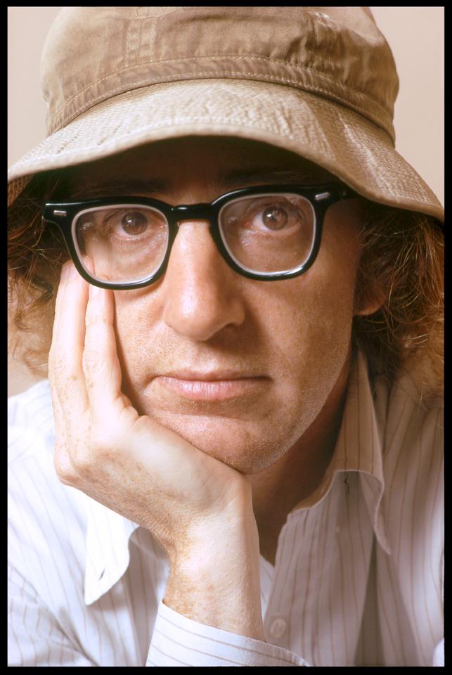 """""""Woody Allen"""" West 57th Street NYC 1973 RGB 122"""