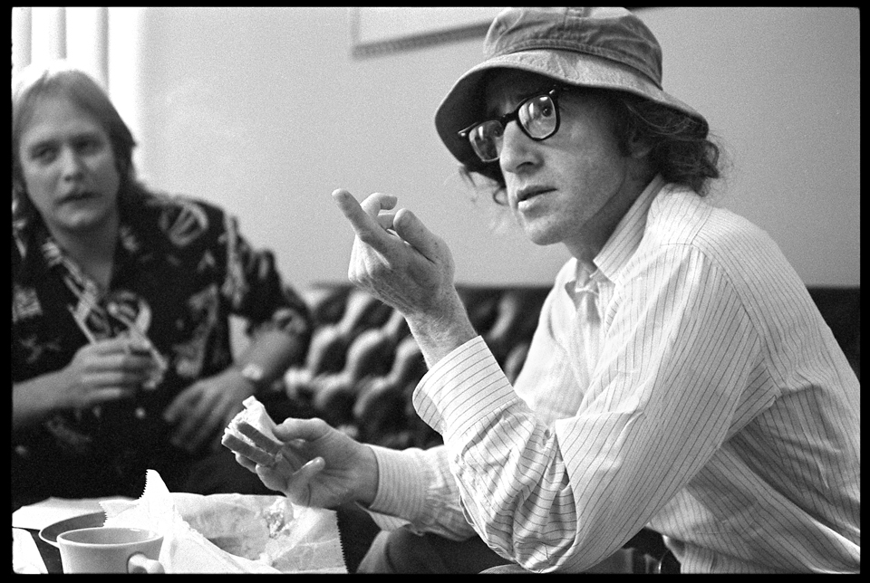 """Woody Allen & Martin Mull"" West 57th Street NYC 1973 F17"