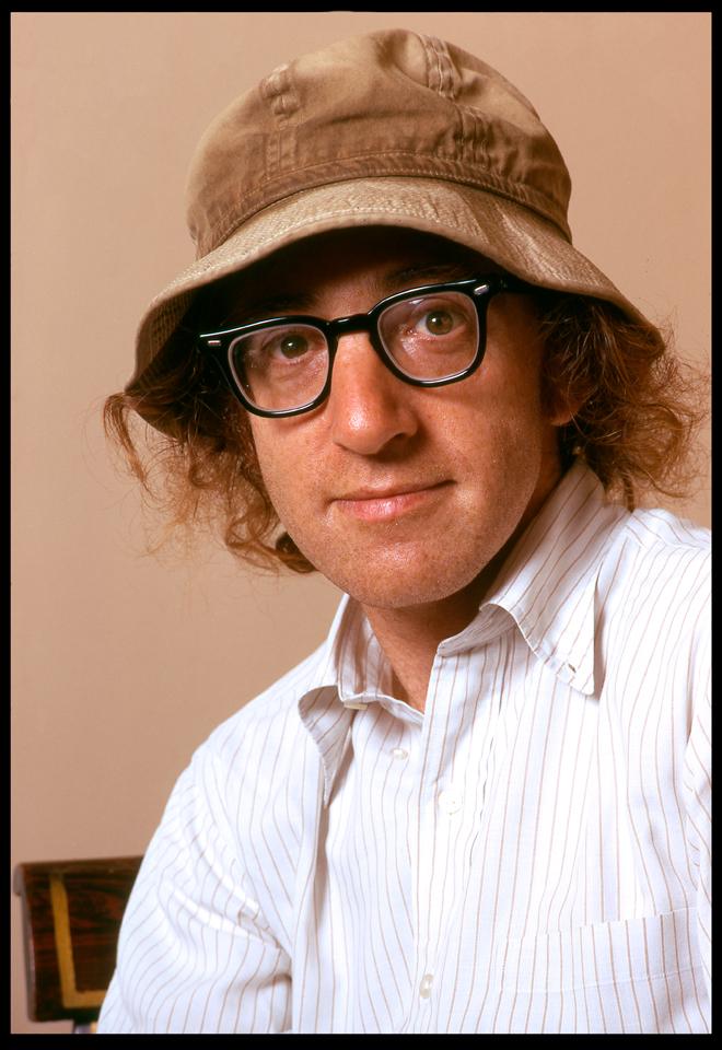 """""""Woody Allen"""" West 57th Street NYC 1973 RGB 128"""