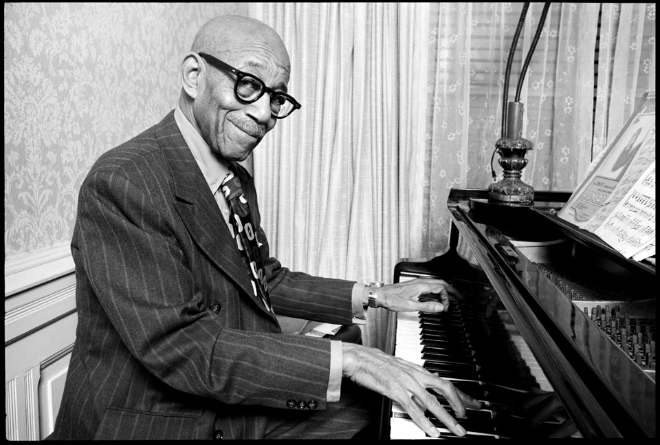 Eubie Blake at the National Museum of African American History and Culture