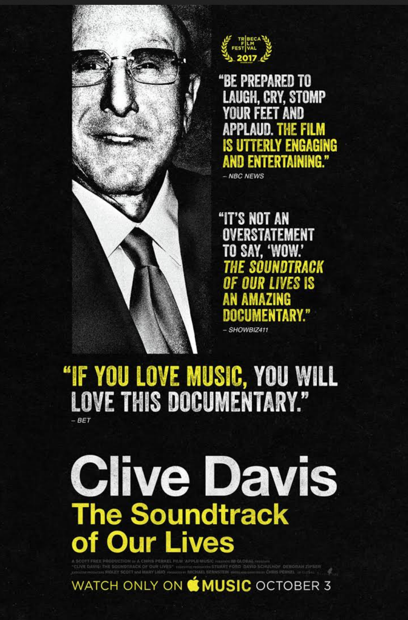 Clive Davis: The Sound Track Of Our Lives